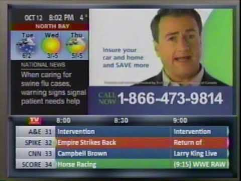 TV Guide (2008) - Channel Listings