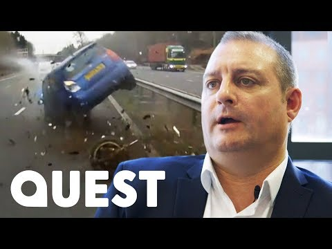Driver Swerves £40,000 Insurance Claim Thanks To His Dashboard Camera !   World's Deadliest Drivers