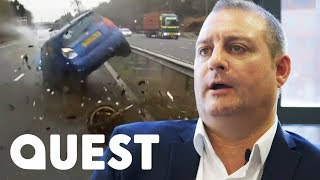 Driver Swerves £40,000 Insurance Claim Thanks To His Dashboard Camera ! | World's Deadliest Drivers