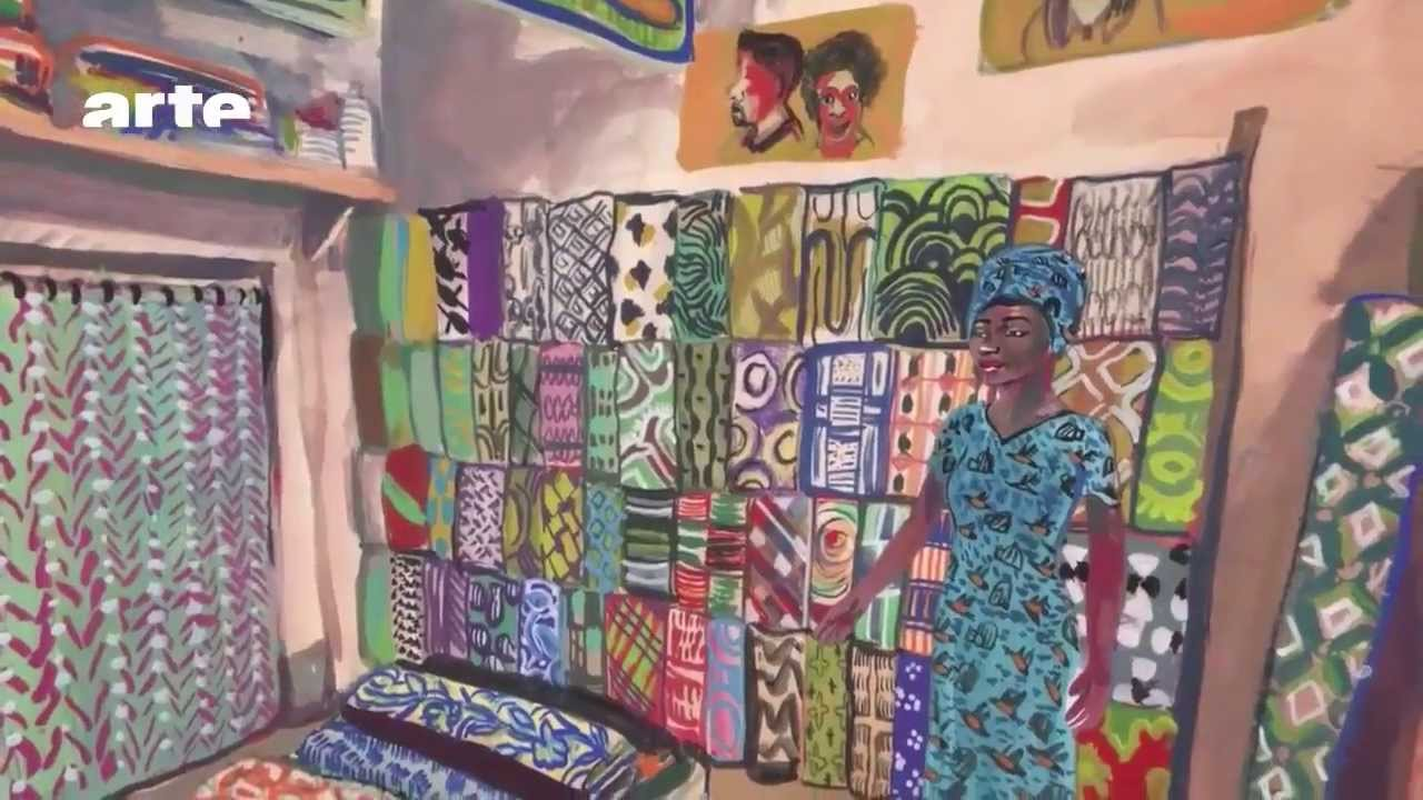 Excellent Le pagne africain, un art de vivre - YouTube AU04