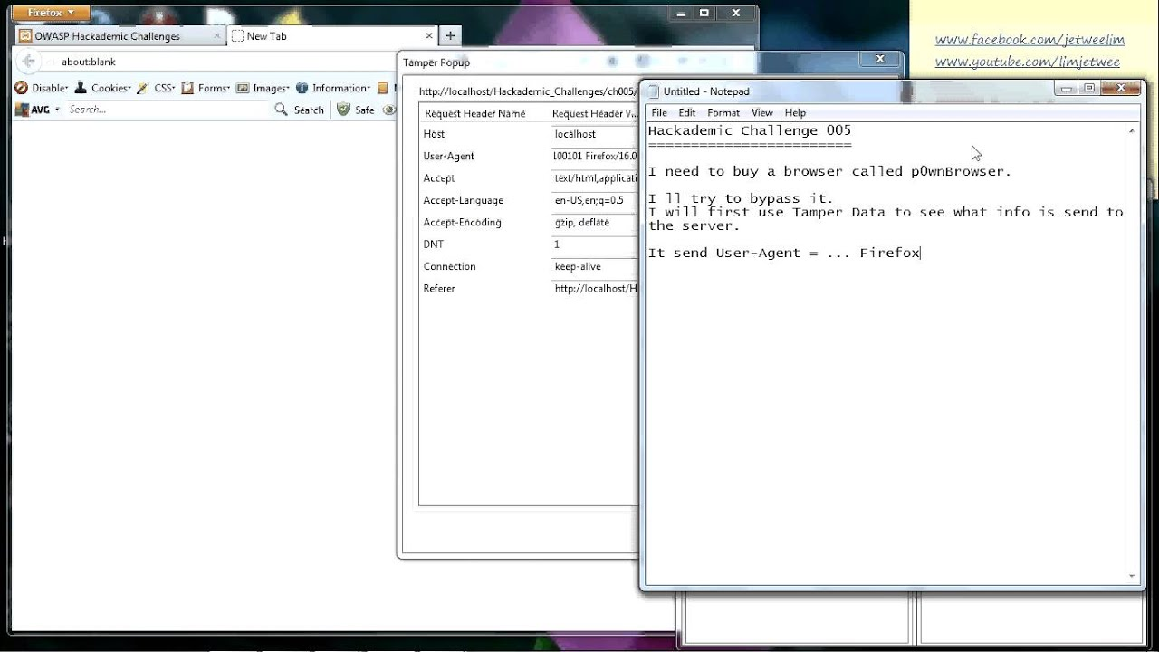 Hackademic Challenge 005 - Tamper Data, change post information
