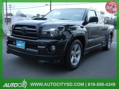 2006 toyota tacoma x runner for sale in san diego by auto city sales youtube. Black Bedroom Furniture Sets. Home Design Ideas