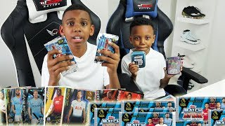 UNBOXING MATCH ATTAX Trading Cards, FOOTBALL CHALLENGE