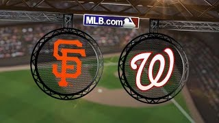 10/4/14: In 18th, Giants belted to big 2-0 NLDS lead