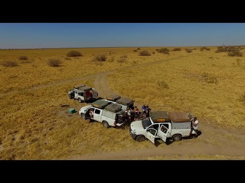 Travel Video - Botswana, Namibia & Zambia with Drone (Victoria Falls)