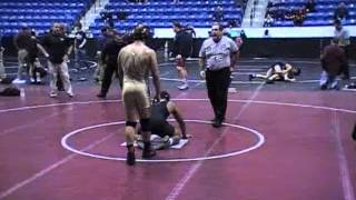 Kameron Anderson (Central) vs Nick Jansen (Tewksbury) Quarterfinals Lowell Holiday - 2012