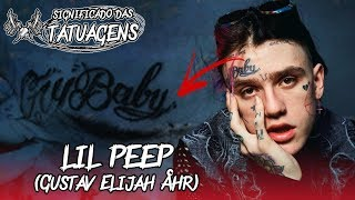 SIGNIFICADO DAS TATUAGENS DO LIL PEEP | SCREAMS