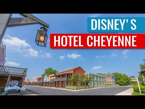 Disney's Hotel Cheyenne | Disneyland Paris Hotel Tour [DE/EN] [Untertitel/Subtitle]