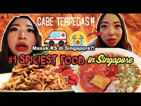 EXTREME❗THE REAL SPICIEST FOOD IN SINGAPORE!! #JennieinSingapore ep. 3