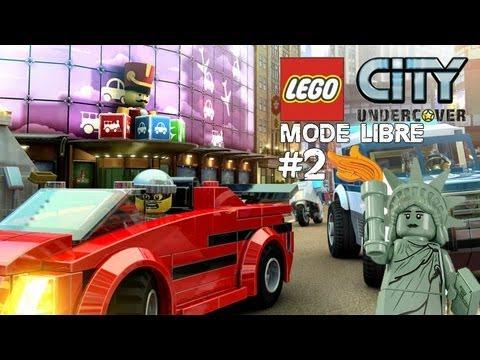 Lego City : Mode Libre #2 (Lady Liberty Island!!!)