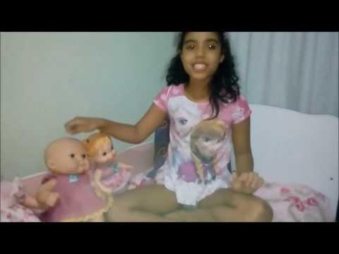 Rotina da manhã de algumas das minhas bonecas e da baby alive - Canal da Mumu para meninas e meninos