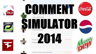 [ROBLOX] MLG COMMENT SIMULATOR 2014