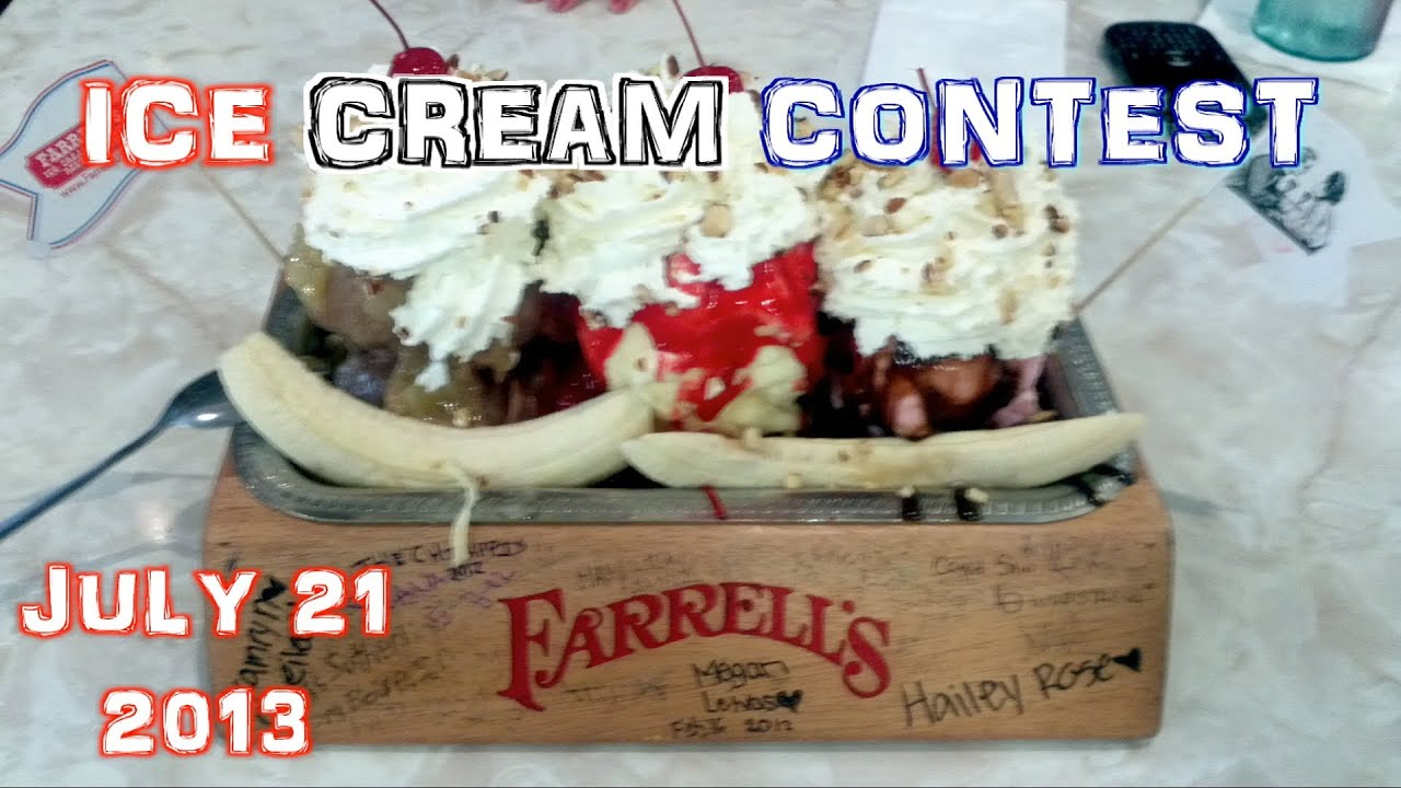 Farrell's Ice Cream Eating Challenge CHAMPIONSHIP PREVIEW ...