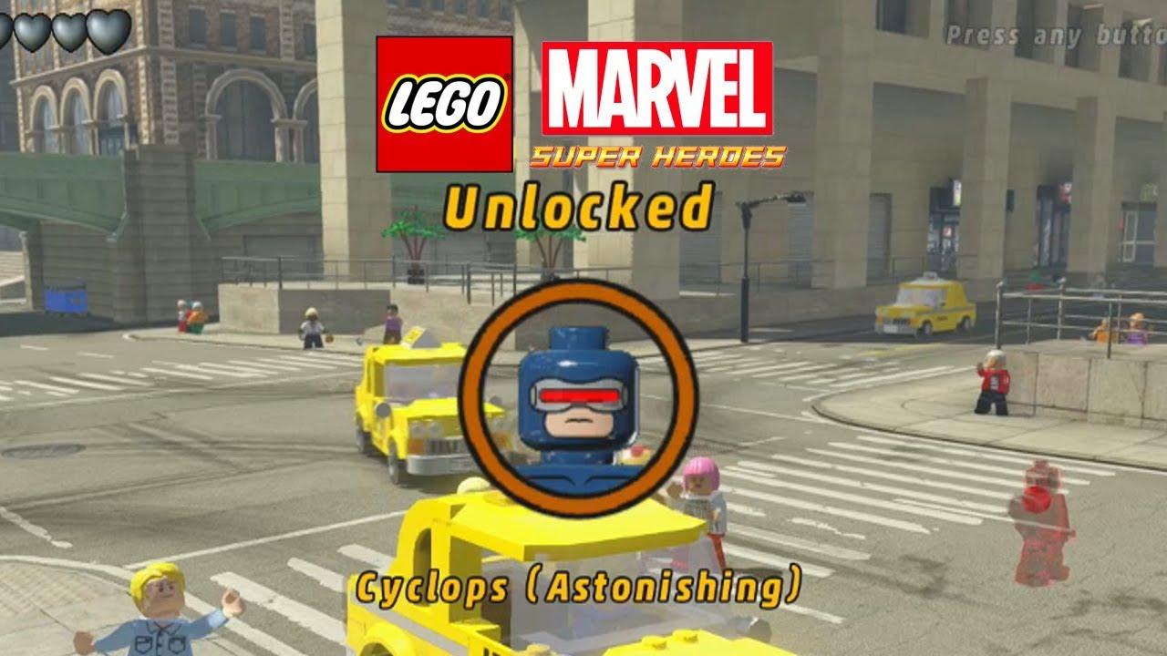 lego marvelunlock cyclops astonishing youtube