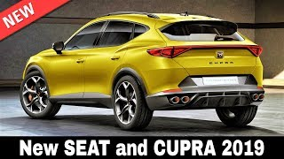 10 New Seat Cars And Cupra Performance Vehicles Of 2019 (Interior & Exterior Look)