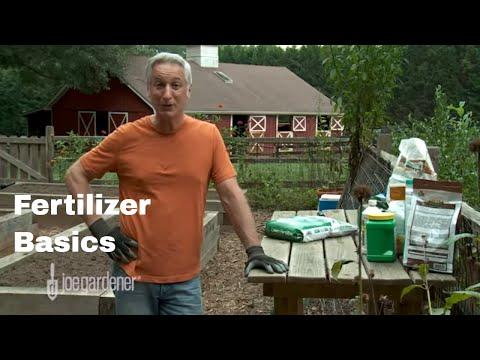 Learn the Basics of Fertilizer