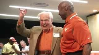 Longhorn Lettermen come home [April 21, 2015]