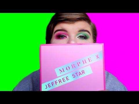 JEFFREE STAR X MORPHE EYESHADOW PALETTE REVIEW, SWATCHES & DEMO! | Chloe Benson thumbnail