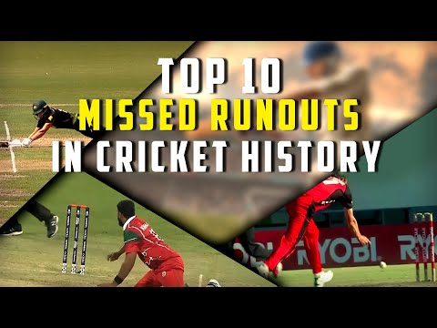 Top 10 Missed Runouts In Cricket History | Simbly Chumma