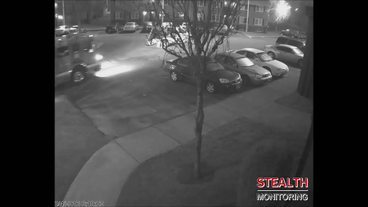 Live Monitoring Catches Portland Apartment Fireworks Launcher