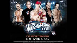 "WWE Wrestlemania 28 Official Theme Song - ""Invincible"" by Machine Gun Kelly"