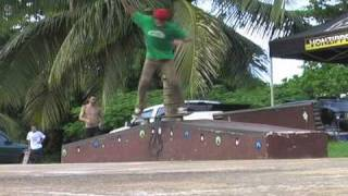 Mad Rican Presents: Lakai MJ Ledge Best Trick in Aguadilla