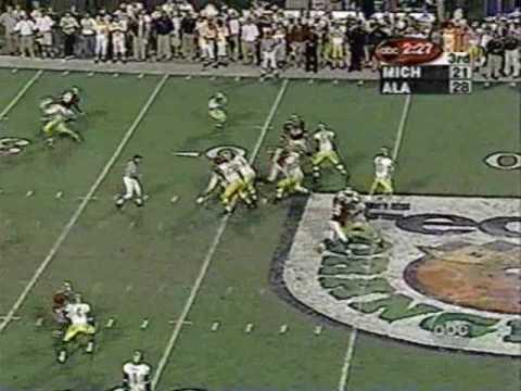 2000 Orange Bowl: Michigan 35 Alabama 34 (PART 2)