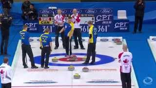 CURLING: CAN-SWE World Men
