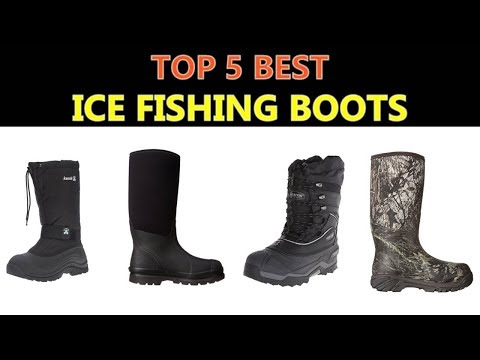 Best Ice Fishing Boots 2020