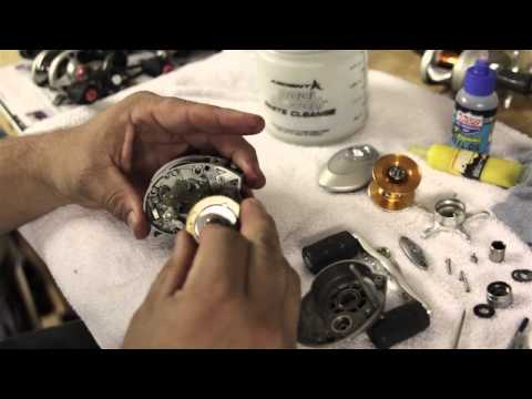 How to Disassemble and Clean Low-Profile Baitcaster Fishing Reels