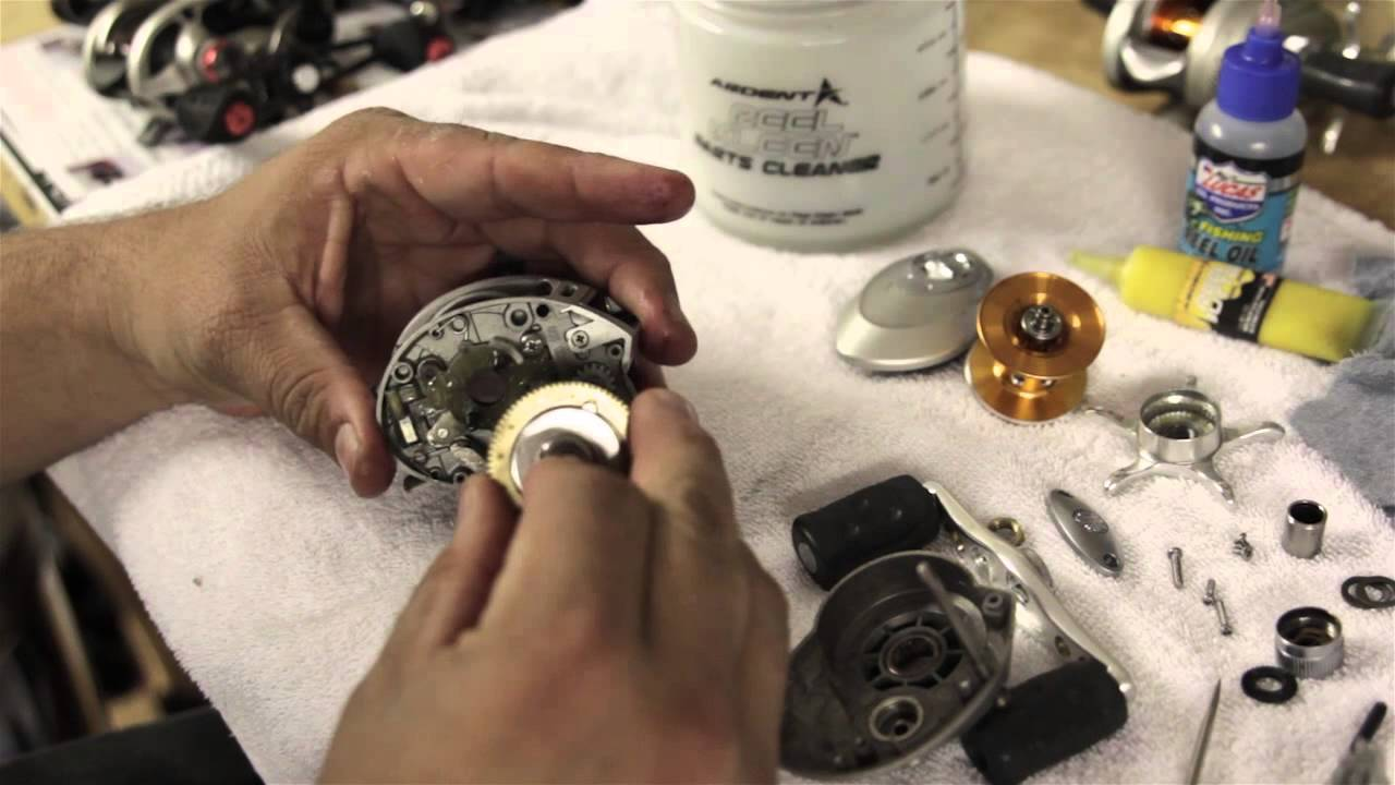How to Disemble and Clean Low-Profile Baitcaster Fishing Reels Quantum Reel Schematics on