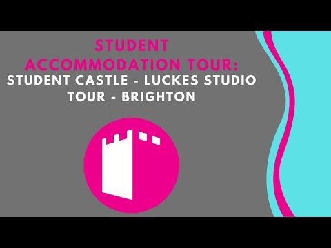 Luckes Studio - Student Castle Brighton - Student Accommodation Room Tour Brighton