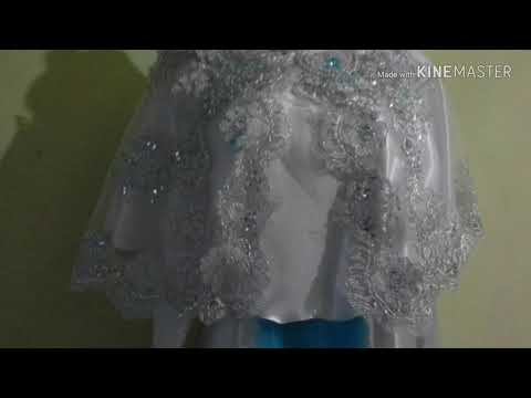 Cara Mendesain dan membuat baju pernikahan (wedding dress)