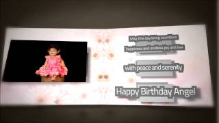 Vishishta (Kushi) 1st birthday wishes