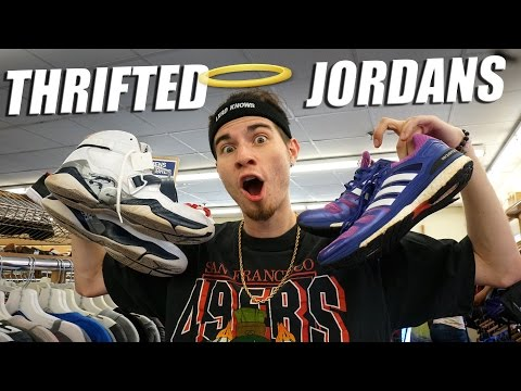 Trip to the Thrift #134 Jordan 8's and Adidas Boosts Found in New York! Sneaker Heaters!