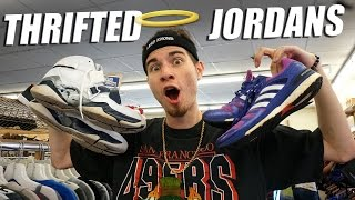 trip to the thrift 134 jordan 8 s and adidas boosts found in new york sneaker heaters