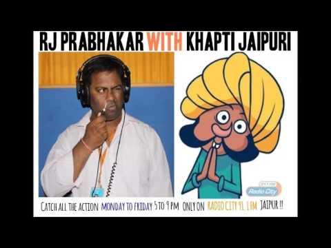 Khapti Ji on Resurgent Rajasthan   Radio City 91.1 FM