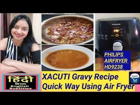 xacuti-gravy-konkani-recipe-using-air-fryer,-how-to-air-fry-coconut-n-onions-to-make-xacuti-gravy