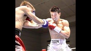 【ボクシング】 辰吉寿以輝がTKO勝ち、10戦無敗に boxing (^-^)v 2018年...