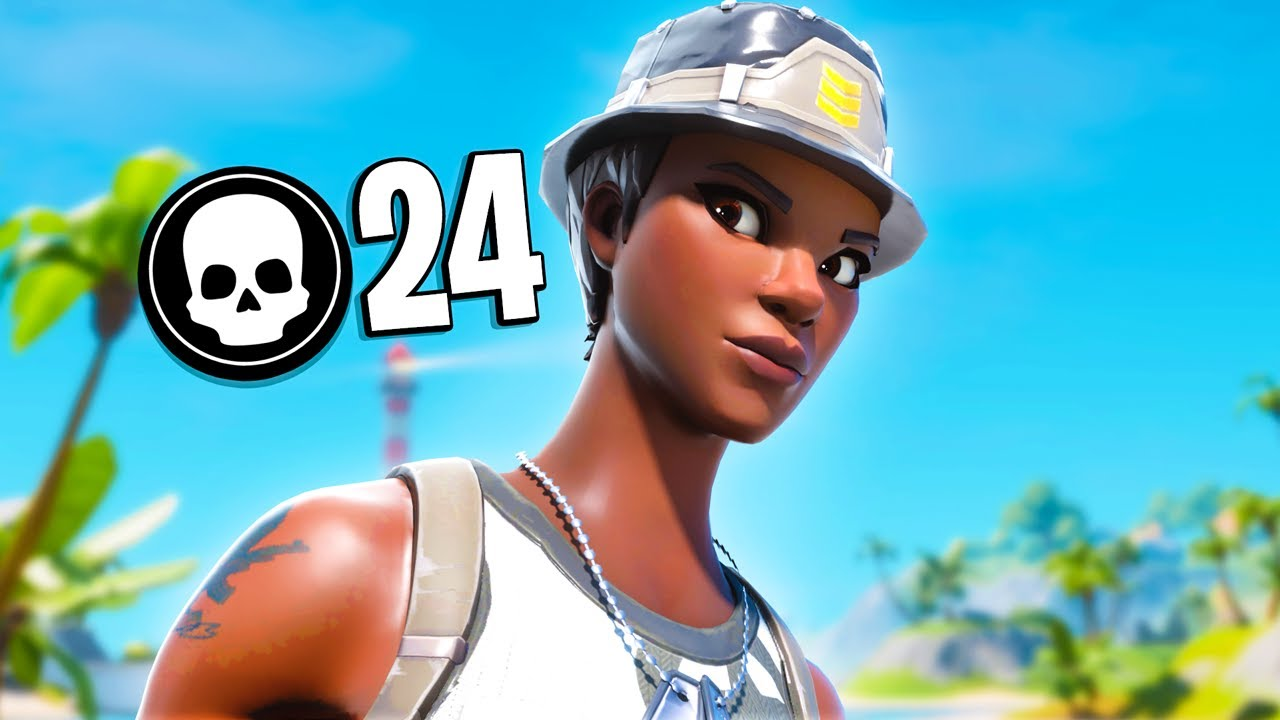 24 Kill Solo Squad | Season 2 Fortnite