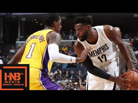 Los Angeles Lakers vs Memphis Grizzlies Full Game Highlights / Jan 15 / 2017-18 NBA Season