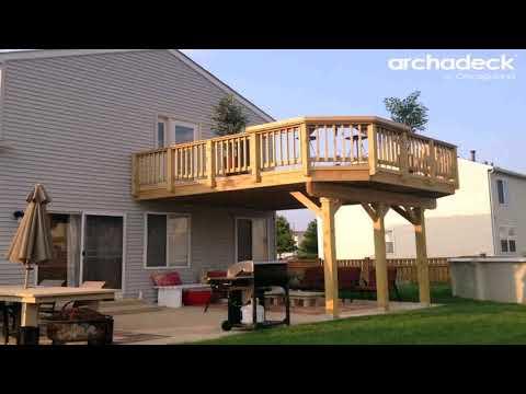 Building A Raised Deck Over Concrete Patio