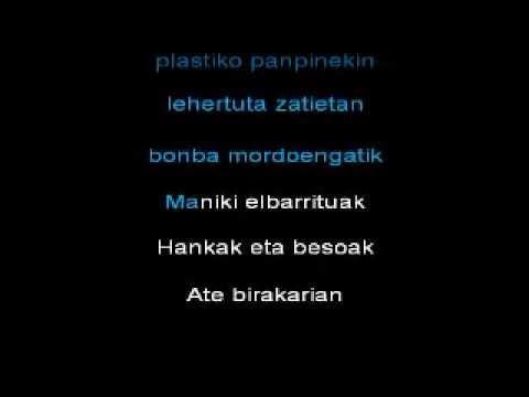 fermin muguruza - plastic turkey - karaoke