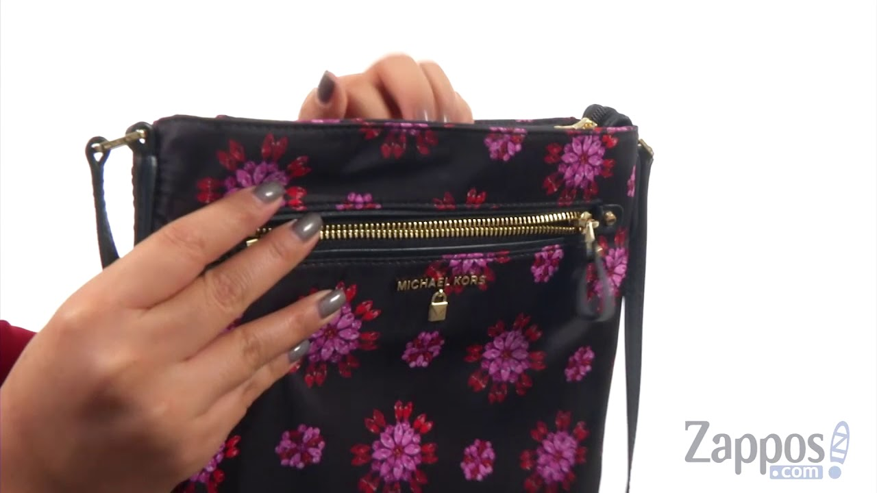 e8780d68fd085 MICHAEL Michael Kors Large Gusset Crossbody SKU  9021438 - YouTube