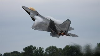 F22 Raptor Fantastic Take Off And Display - Airshow World