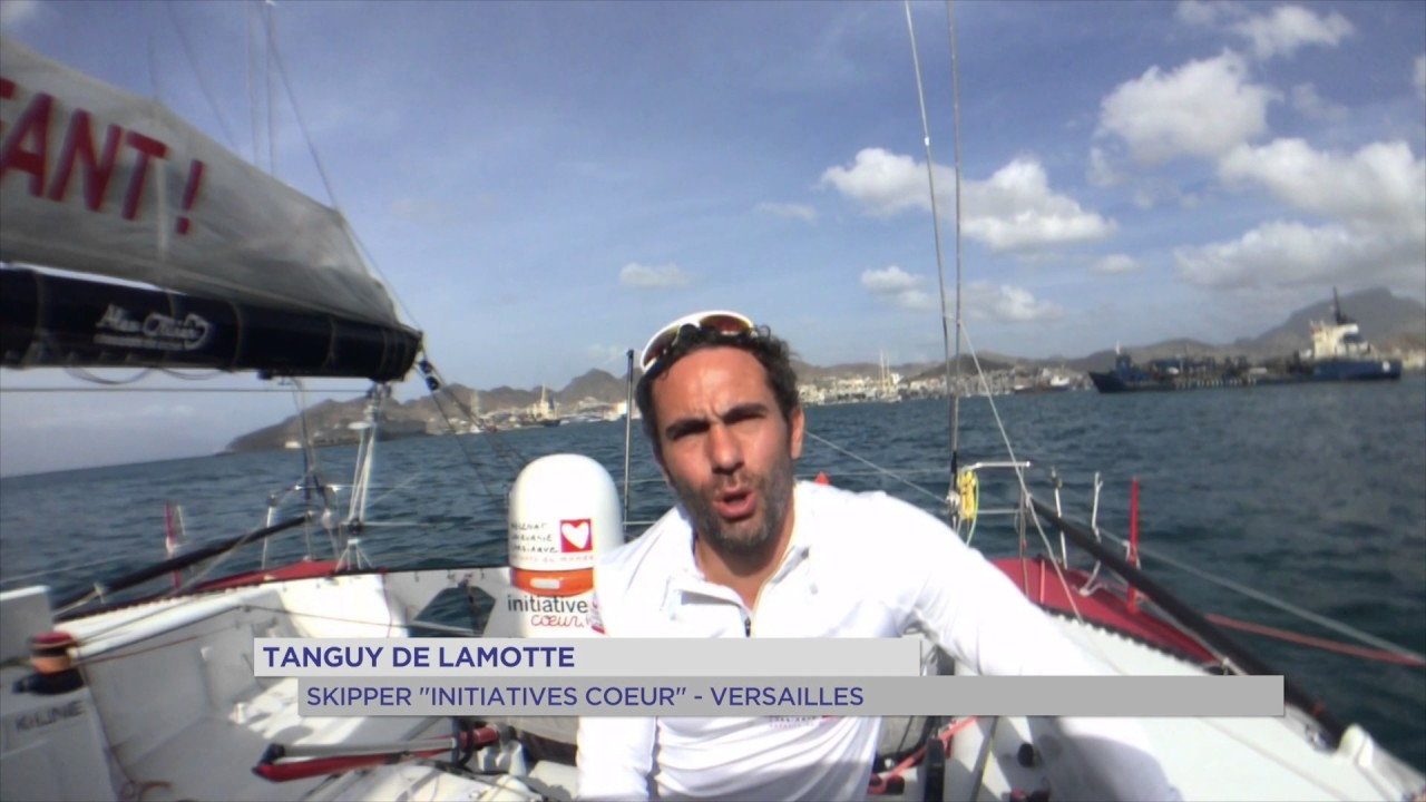 Vendée Globe : De Lamotte abandonne, Bellion et Burton toujours en course
