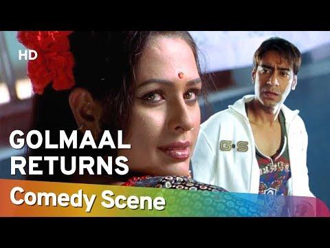 Golmaal Returns - Ajay Devgan - Hit Comedy Scene - अजय देवगन हिट् कॉमेडी - Shemaroo Bollywood Comedy