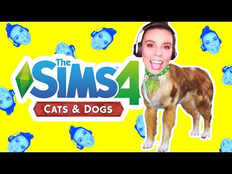 Making Myself as a Dog in The Sims 4