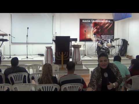 TESTIMONIO PSA ESMERALDA RESTREPO. PASTOR JOHN CONSTANTE
