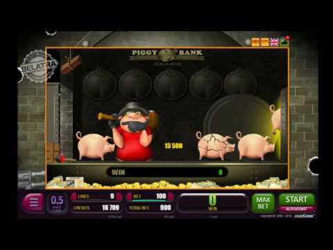 МЕГА ВЫИГРЫШ | Пигги Банк игровой автомат БЕЛАТРА онлайн | PIGGY BANK Slot Machine Online | Big WIN